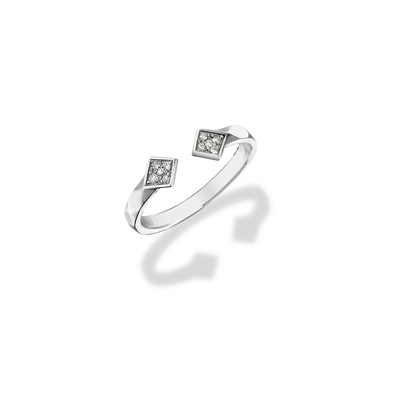 size cut k brilliant gold white facet p ring carat diamond